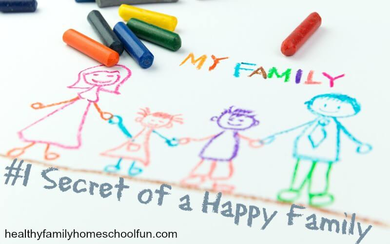 #1 Secret of a Happy Family